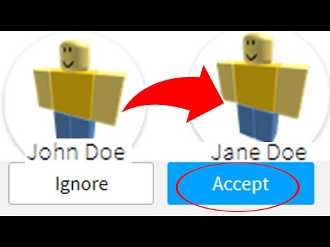 I JUST ADDED JOHN DOE and JANE DOE Accounts in ROBLOX