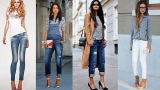 Модные женские джинсы. Мода весна 2019. Фото. Стильные образы и фасоны. Идеи для женщин.