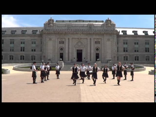 USNA Pipes and Drums