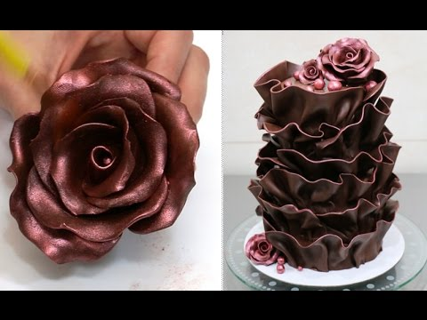 Easy Chocolate Decoration Cake By Cakes Stepbystep