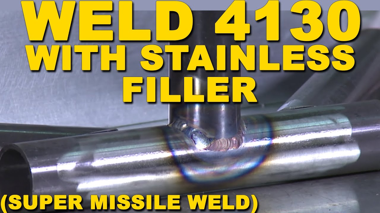 Welding 4130 Chrome Moly With Stainless Steel Filler