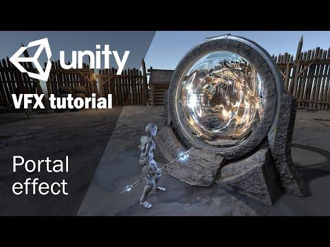 Магический портал   Урок по созданию игровых спецэффектов в Unity