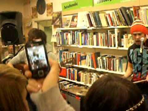 Little Comets - Adultery (Acoustic) Oxfam, Newcastle 21-11-09