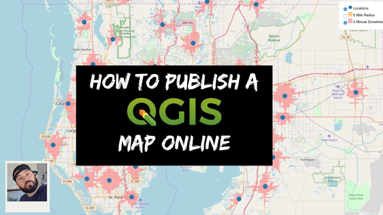 How To Publish A QGIS Map Online