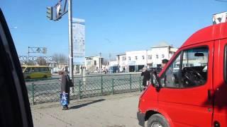 At Marshrutka Station Leaving Turkistan for Shymkent   Kazakhstan   February 2016