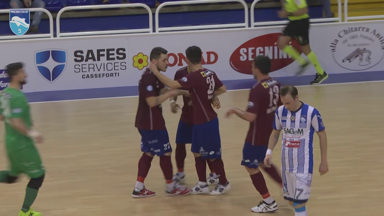 Pescara - Real Rieti 3-3 highlights
