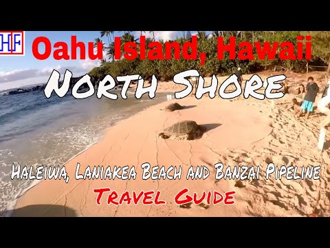 Oahu | North Shore – Haleiwa, Laniakea Beach and Banzai Pipeline | Travel Guide | Episode# 13