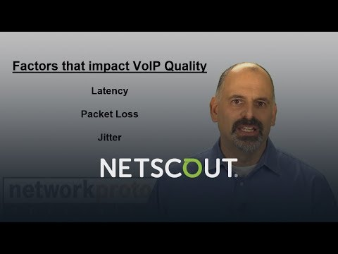 VoIP Performance Factors | NETSCOUT OptiView XG Network Analysis Tablet