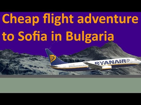 Cheap flight adventure to Sofia in Bulgaria