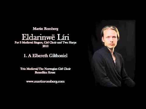 J.R.R. Tolkien, Choir Music, A Elbereth Gilthoniel
