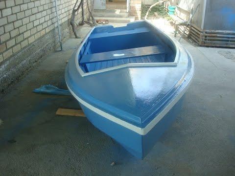 Самодельная лодка из фанеры. Часть 3