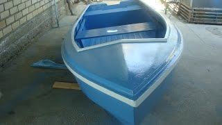 Самодельная лодка из фанеры. Часть 3(Подробная технология по самостоятельной постройке моторной лодки, отвечающей всем критериям безопасности..., 2016-06-07T23:22:59.000Z)