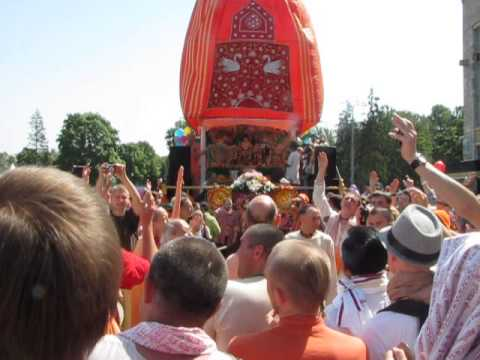 Ratha Yatra in Moscow 18.05.14