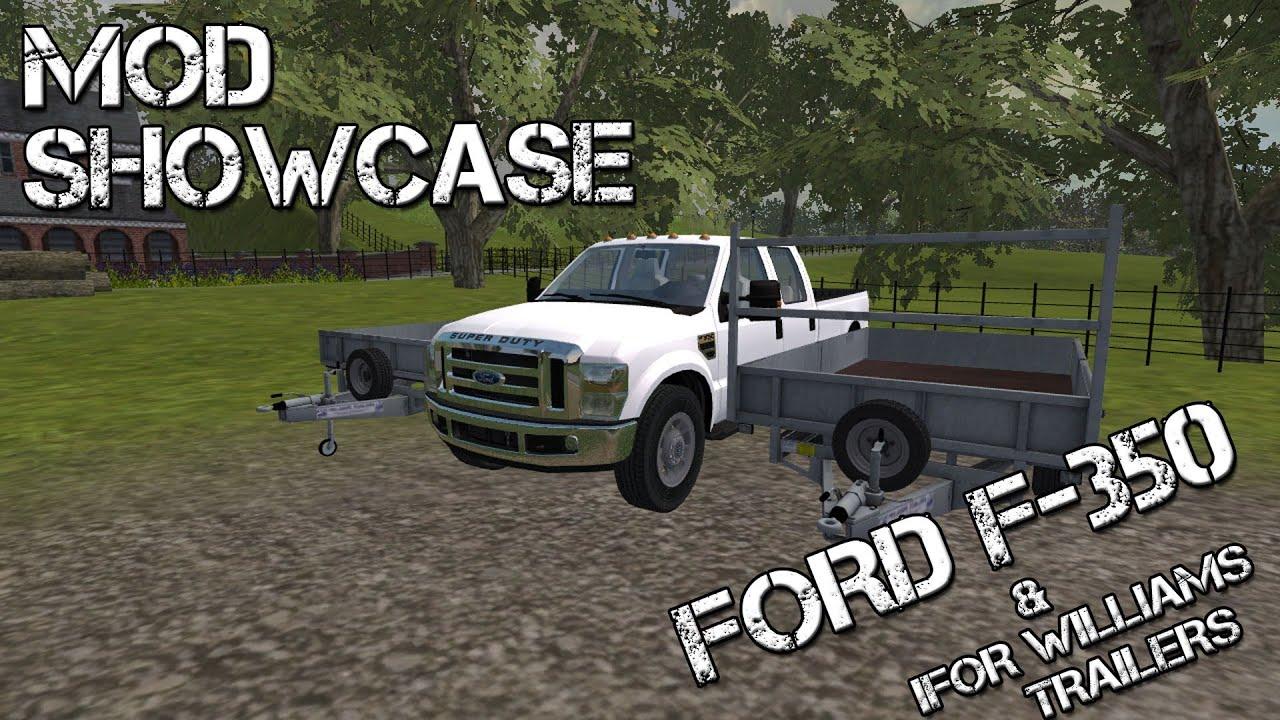 F 350 2013 Mods Simulator Ford Farming