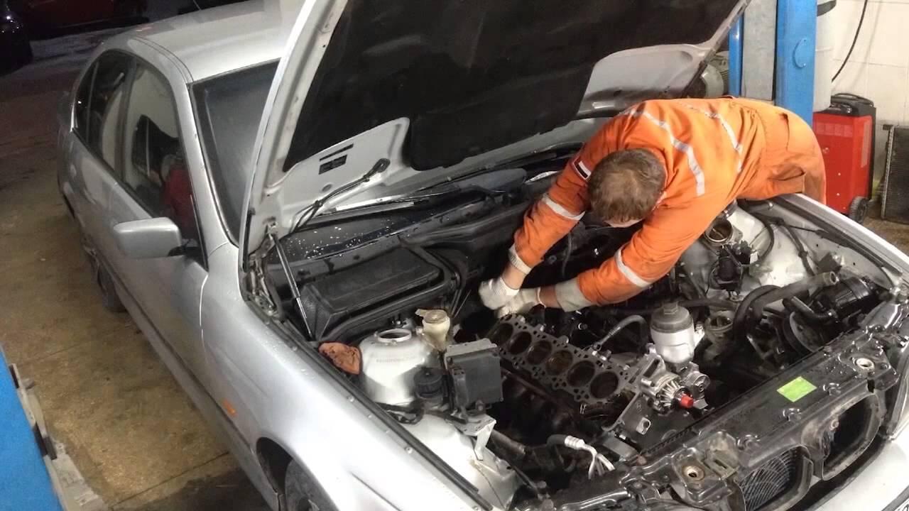 Ночной ремонт. Капиталка BMW E39 мотор M52. Вторая часть.