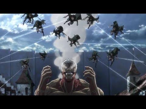 Thunder Spears Vs Reiner ! Attack On Titan Season 3 Episode 14 ENG SUB HD