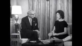 Jacqueline Kennedy speaks to Dr. Spock
