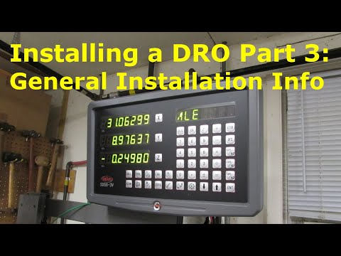 How To Install A DRO 3 General Installation Info YouTube