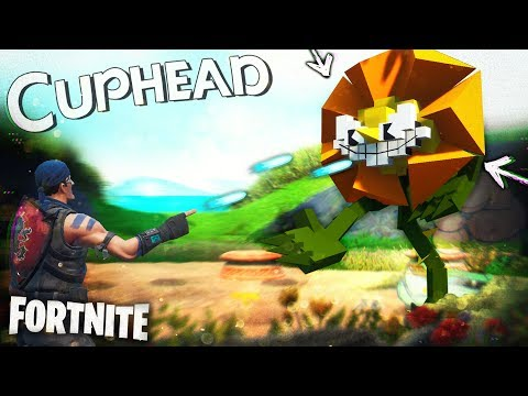 CAGNEY BOSS BATTLE!! (Cuphead Game Mode) | Fortnite Pt.50 [Season 9] Cagney Carnation Minigame |