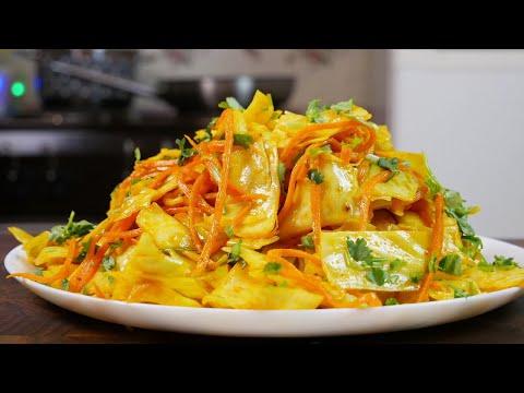 Капуста по-корейски. Дорогой салат за копейки, цыганка готовит.