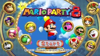 Mario Party 8 - All Boards (Star Battle Arena)