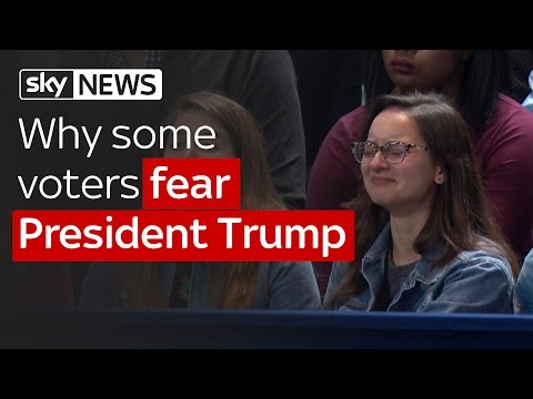 Why some voters fear President Trump