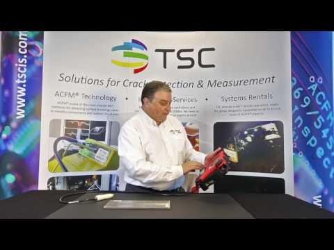 PACE Demo Video - Portable ACFM Inspection Solutions
