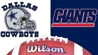 Dallas Cowboys vs New York Giants in NFC Championship