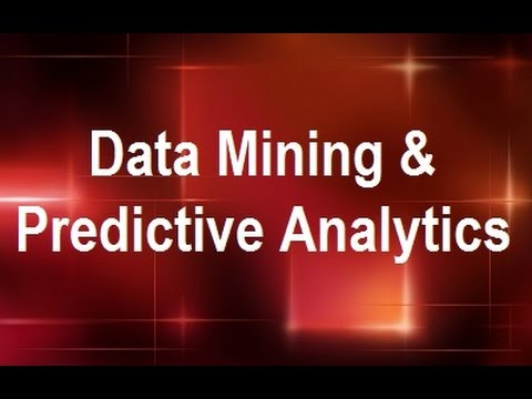 MicroStrategy - Data Mining & Predictive Analytics - Online Training Video by MicroRooster