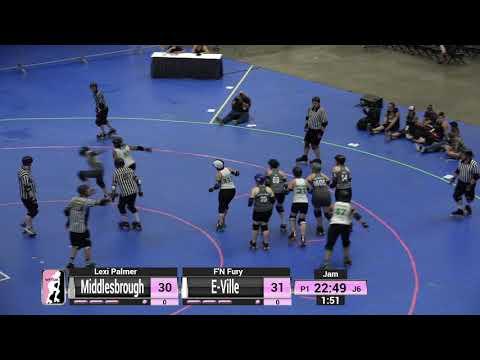 WFTDA Roller Derby - Division 2, Pittsburgh - Game 12 - Middlesbrough vs. E-Ville
