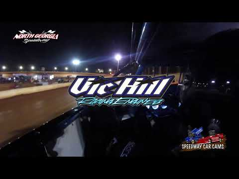 #5 Kenny Taylor - Winner - A Hobby - 11-11-17 North Georgia Speedway - In Car Camera