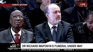 Maponya Funeral | Children paying tribute to Dr Maponya