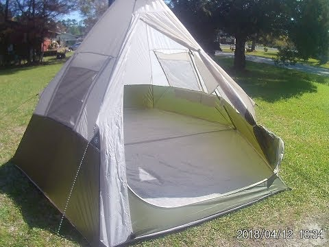 Ozark Trail 7 person Teepee Tent Review