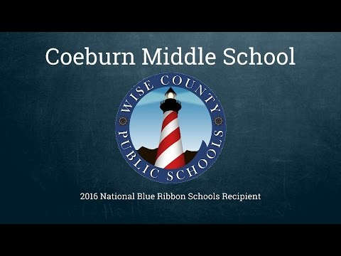 Coeburn Middle School   National Blue Ribbon Schools Recipient