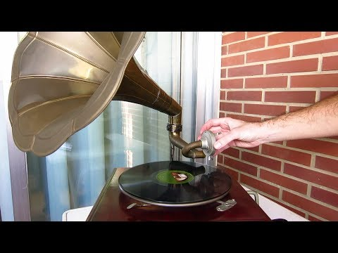 Gramófono - Partes y funcionamiento