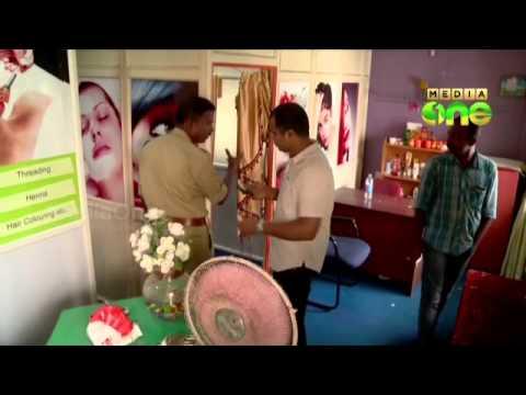 Raids in beauty parlours in Kochi