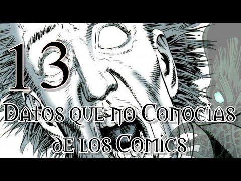 13 Datos que NO Conocias de Los Comics