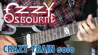 Ozzy Osbourne - Crazy Train Solo