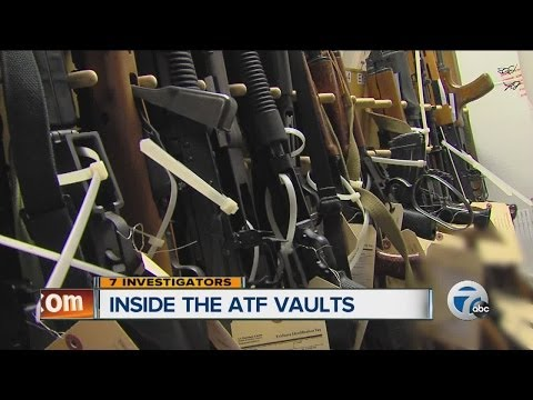 Inside the ATF vaults