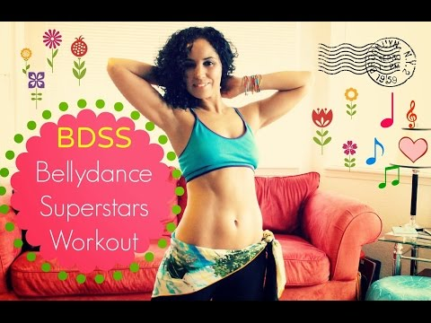 The Bellydance Superstars beginners' workout with music