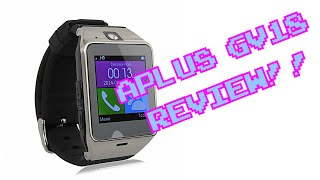 APLUS GV18 REVIEW! || Smartwatch económico