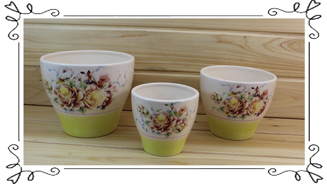 YouTube & Ceramic Flower Pots Wholesale