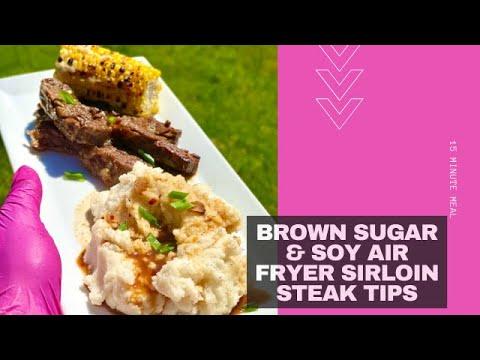 air fryer steak tips