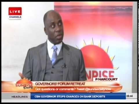 Nigeria Governor's Forum: A way Of Reviewing Governor's Performance - Amaechi PT1