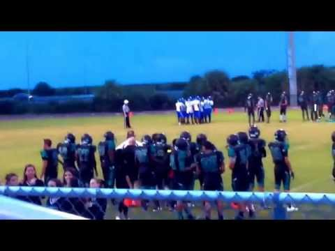 My school coral Glades high school football team for the Jaguars #Coral Glades