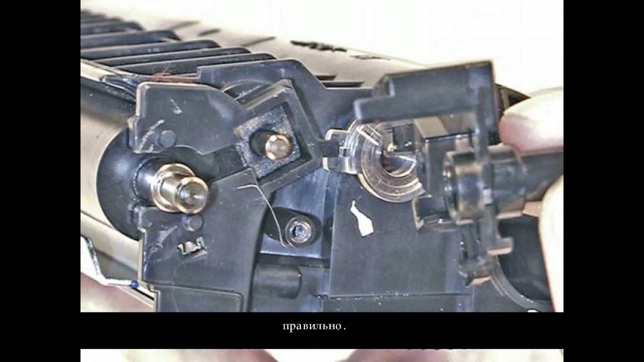 Инструкция по заправке картридж brother tn 2275