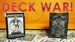 Deck War - Theory 11 Rebels VS Propaganda 909 Edition