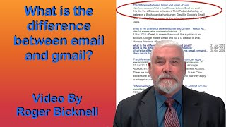 What is the difference between email and gmail