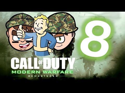 Call of Duty Modern Warfare Remastered: FALLOUT 5 - PART 8 - CGI Studios 4K ULTRA HD