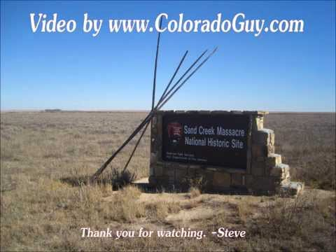 My Visit - Sand Creek Massacre Site